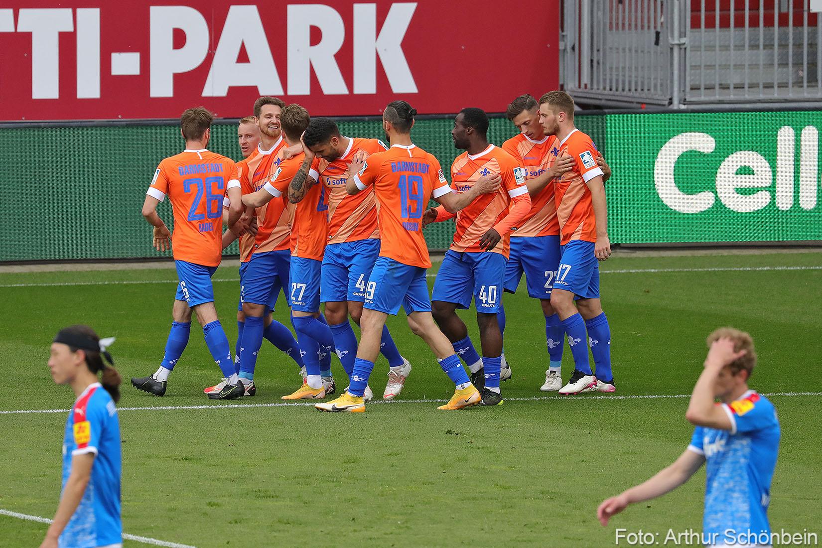 Das Saisonzeugnis für die Spieler des SV Darmstadt 98