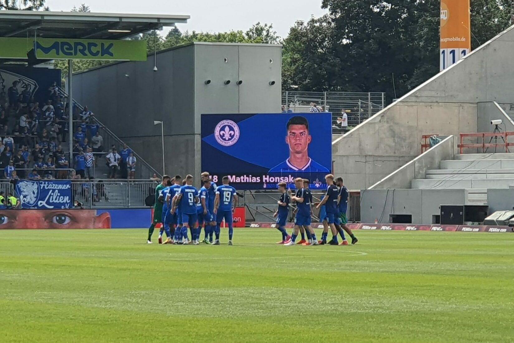 SV Darmstadt 98 – SSV Jahn Regensburg 0:2 (0:1)
