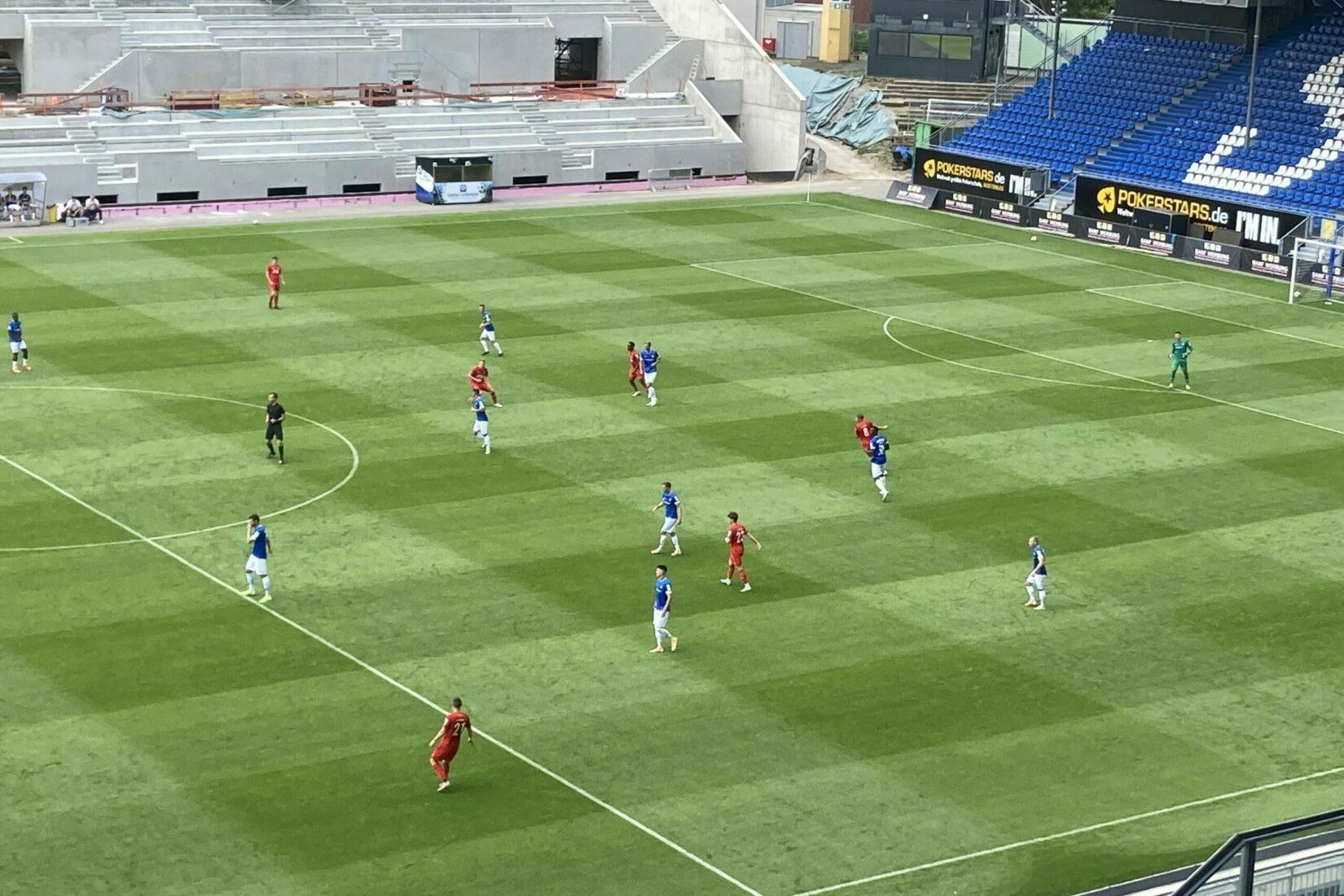 Ungefährdeter Sieg des SV Darmstadt 98 über Köln II