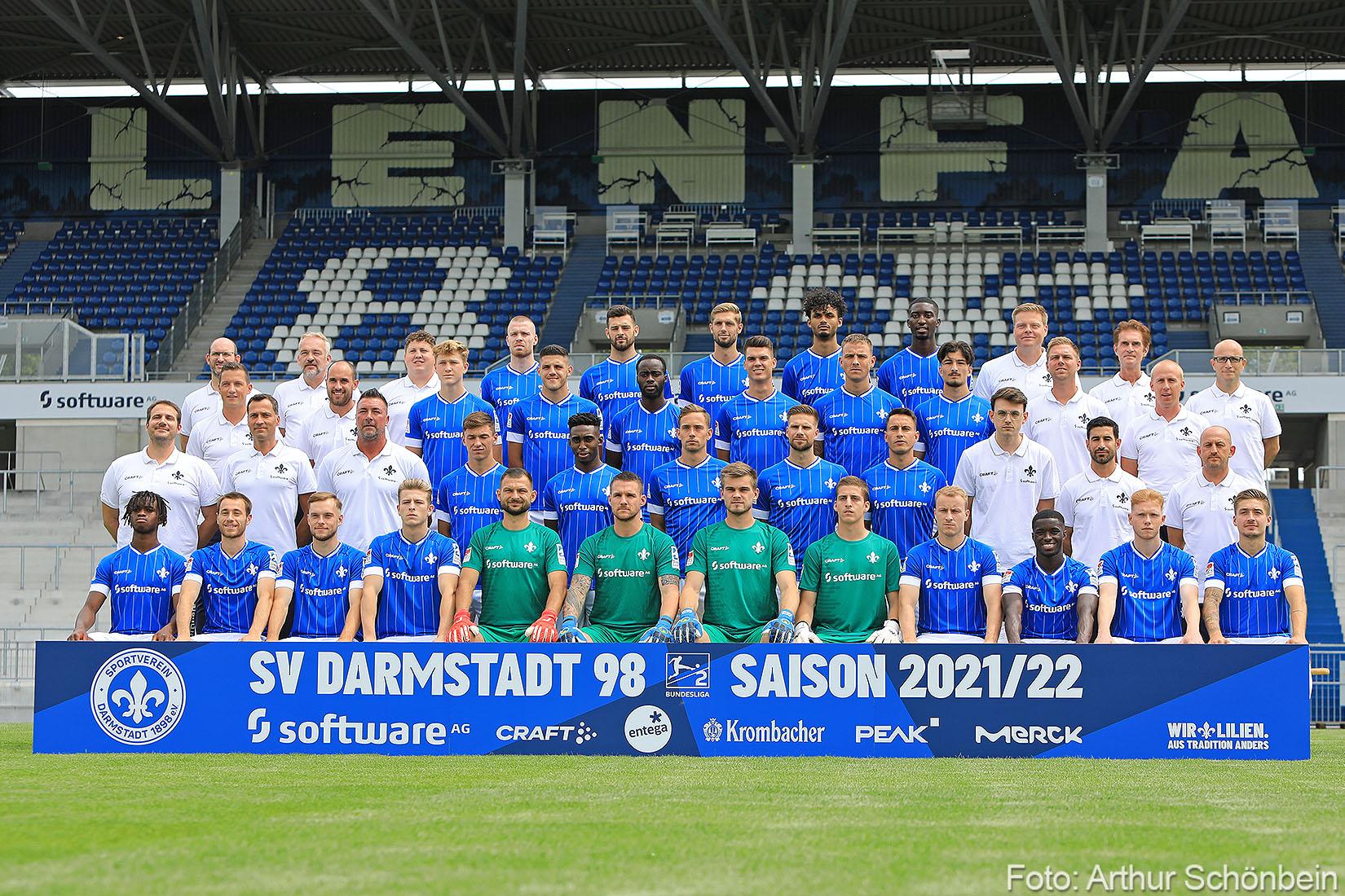 Bilder vom Mediaday beim SV Darmstadt 98