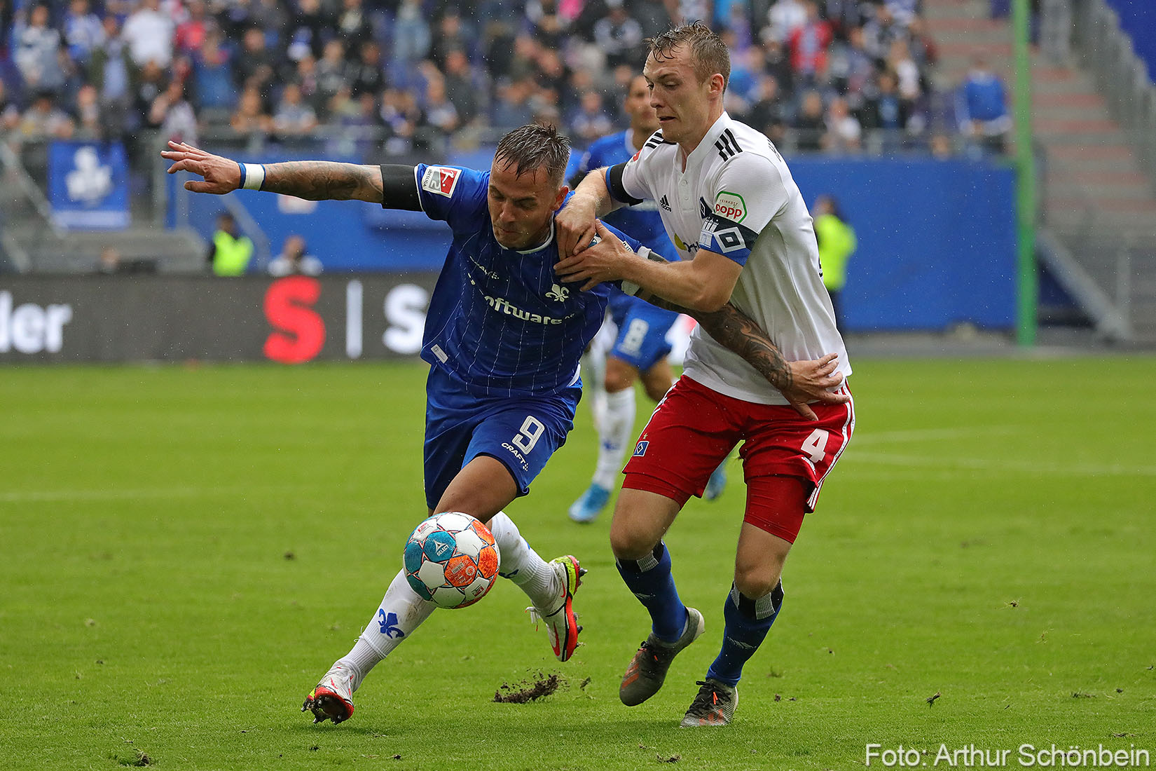 Phillip Tietz ist der Lilien-Spieler des 4. Spieltags