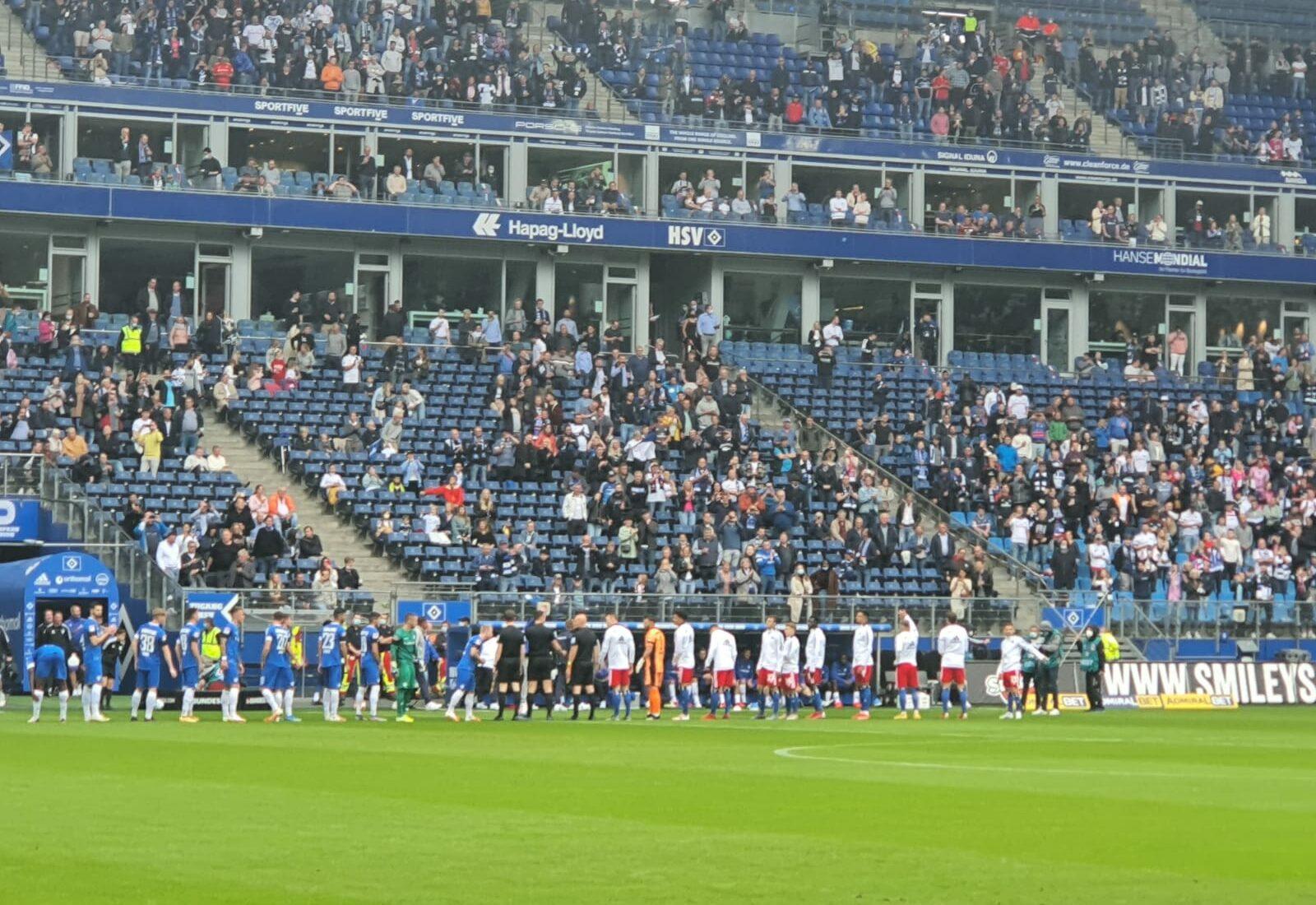 Hamburger SV – SV Darmstadt 98 2:2 (2:2)