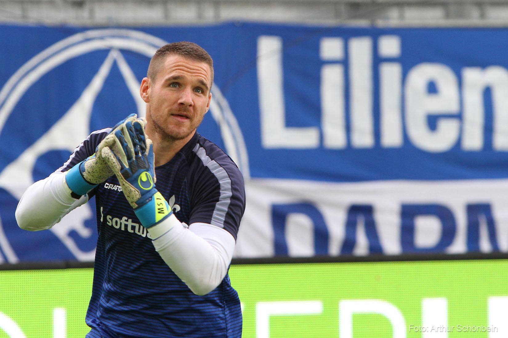 Marcel Schuhen ist Lilien-Spieler des 5. Spieltags