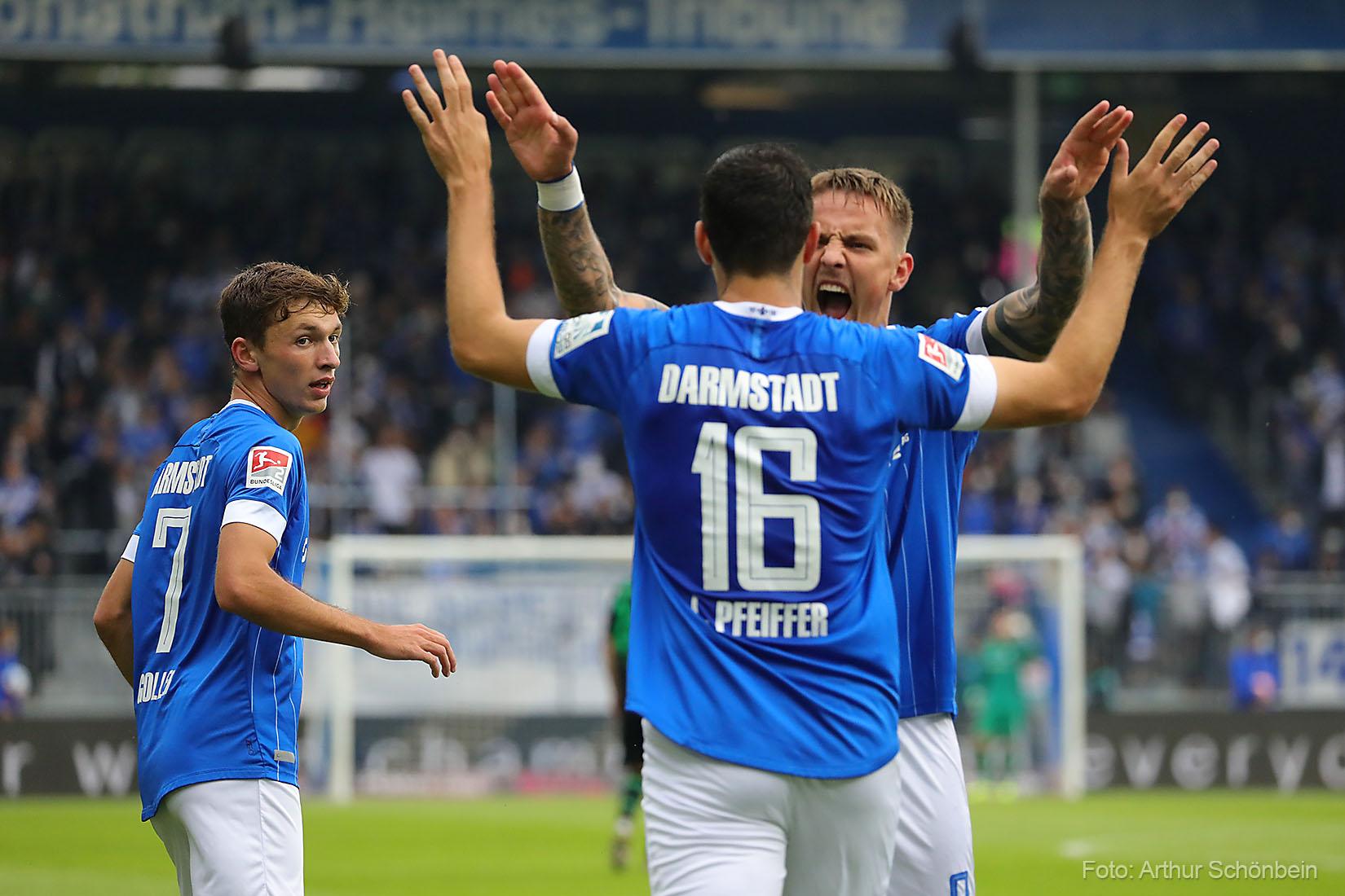 Zwischenzeugnis für die Neuzugänge des SV Darmstadt 98