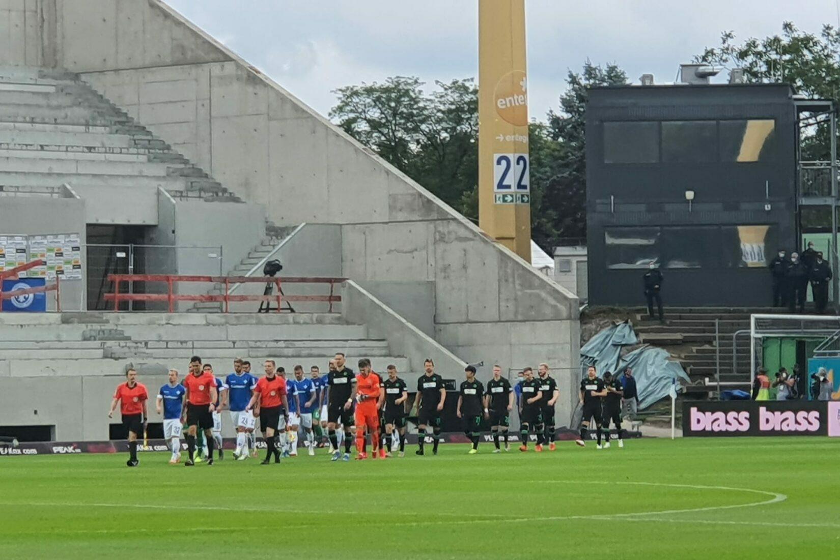 SV Darmstadt 98 – Hannover 96 4:0 (2:0)