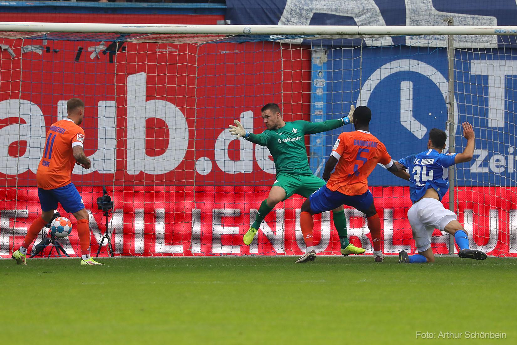 Marcel Schuhen ist der Lilien-Spieler des 6. Spieltags